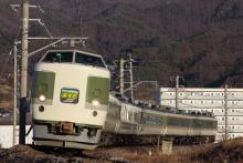 鉄道写真にチャレンジ!-2011.12.30 臨時特急あずさ81号 ナノ101