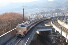 鉄道写真にチャレンジ!-2011.12.31 臨時特急あずさ77号