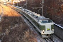 鉄道写真にチャレンジ!-2011.12.31 臨時特急あずさ81号