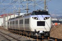 鉄道写真にチャレンジ!-485系 ナノN201 いろどり
