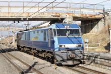 鉄道写真にチャレンジ!-2080レ EH200-14 単機