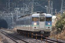 鉄道写真にチャレンジ!-115系 ナノN24
