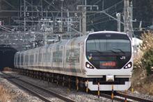 鉄道写真にチャレンジ!-E257系 モトM109 特急あずさ7号