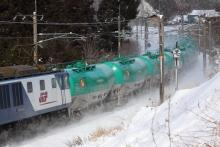 鉄道写真にチャレンジ!-中央西線 3084レ EF64-1039+EF64-1021+タキ