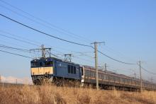 鉄道写真にチャレンジ!-2012.01.12 配9432レ 211系疎開配給