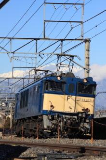 鉄道写真にチャレンジ!-2012.01.12 単機回送 EF64-1031