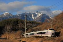 鉄道写真にチャレンジ!-E351系 長坂