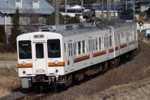 鉄道写真にチャレンジ!-554M 119系 R1編成 231系代走