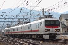 鉄道写真にチャレンジ!-試9435M E491系 Easti-E 2012.01.19