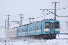 鉄道写真にチャレンジ!-223M 119系 カキE4 + M5