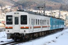 鉄道写真にチャレンジ!-1262M 119系 カキM8+E4