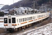 鉄道写真にチャレンジ!-1262M 119系 カキM3+E11