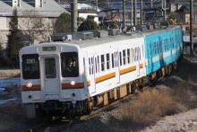 鉄道写真にチャレンジ!-1262M 119系 カキM6+E4