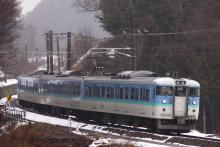 鉄道写真にチャレンジ!-158M 115系 ナノN14
