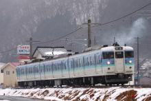 鉄道写真にチャレンジ!-161M 115系 ナノN14