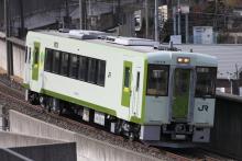 鉄道写真にチャレンジ!-キハ110-115(長コミ) NN出場回送