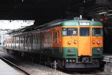 鉄道写真にチャレンジ!-115系 高タカT1022 湘南色
