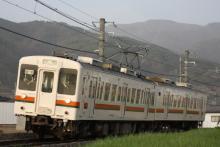 鉄道写真にチャレンジ!-飯田線119系E5編成