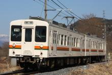 鉄道写真にチャレンジ!-飯田線119系E6編成