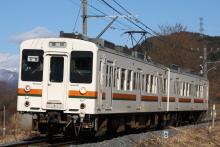 鉄道写真にチャレンジ!-飯田線119系E8編成