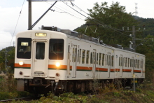 鉄道写真にチャレンジ!-飯田線119系E9編成