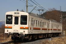 鉄道写真にチャレンジ!-飯田線119系E5編成飯田線119系E10編成