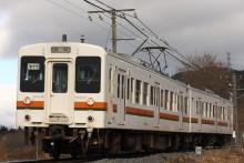 鉄道写真にチャレンジ!-飯田線119系E11編成