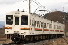 鉄道写真にチャレンジ!-飯田線119系E12編成