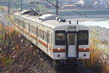 鉄道写真にチャレンジ!-飯田線119系E13編成