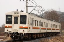 鉄道写真にチャレンジ!-飯田線119系E16編成