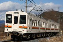 鉄道写真にチャレンジ!-飯田線119系E17編成