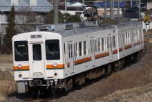 鉄道写真にチャレンジ!-飯田線119系R1編成