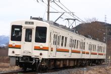 鉄道写真にチャレンジ!-飯田線119系R2編成