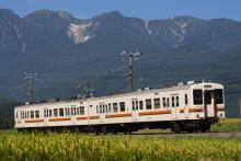 鉄道写真にチャレンジ!-飯田線119系R3編成