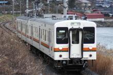 鉄道写真にチャレンジ!-飯田線119系R8編成