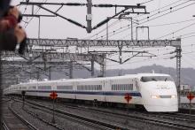 鉄道写真にチャレンジ!-団体臨時 300系 J57