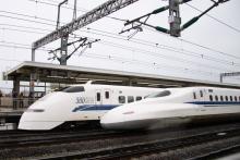鉄道写真にチャレンジ!-ありがとう300系 J57編成