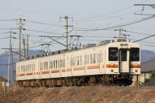 鉄道写真にチャレンジ!-飯田線223M 119系 R1+M9
