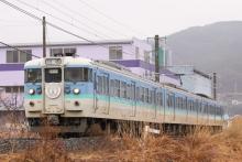 鉄道写真にチャレンジ!-ほろ酔い上諏訪街道号 2013.03.17