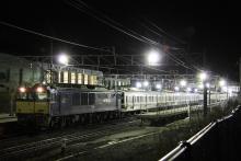 鉄道写真にチャレンジ!-配9233レ EF64-1030 + 211系チタN5編成