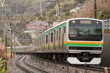 鉄道写真にチャレンジ!-東海道本線 根府川~早川