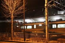 鉄道写真にチャレンジ!-川中島工臨 EF64-37 + チキ8B