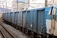 鉄道写真にチャレンジ!-東海道本線 小田原駅 ワム