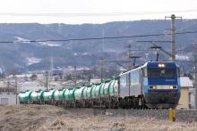 鉄道写真にチャレンジ!-中央本線 2086レ 2012.03.13