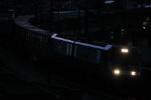 鉄道写真にチャレンジ!-中央本線 2082レ 2012.03.24