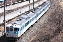 鉄道写真にチャレンジ!-2012.04.08 高遠さくらまつり号