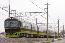 鉄道写真にチャレンジ!-回9851M リゾートやまどり 2012.04.21