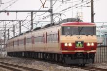 鉄道写真にチャレンジ!-3004M 草津4号 185系 オオOM08