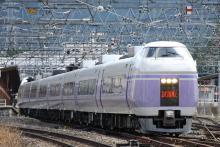 鉄道写真にチャレンジ!-2012.04.27 E351系 S3編成 試運転