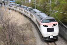 鉄道写真にチャレンジ!-回9525M 団体臨時列車回送 485系 ナノN201